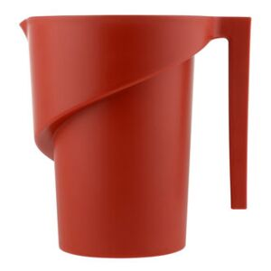 Twisted Measuring glass by Alessi Red