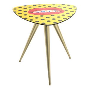 Toiletpaper - Shit End table - / 57 x 57 x H 48 cm by Seletti Multicoloured