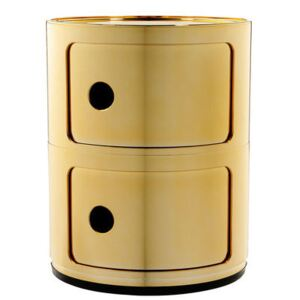 Componibili Storage by Kartell Gold