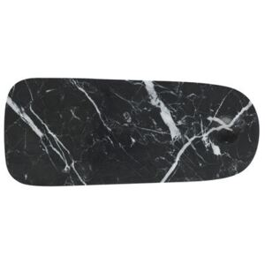 Pebble Small Chopping board - / Small - Marble by Normann Copenhagen Black