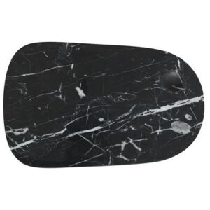 Pebble Large Chopping board - / Large - Marble by Normann Copenhagen Black