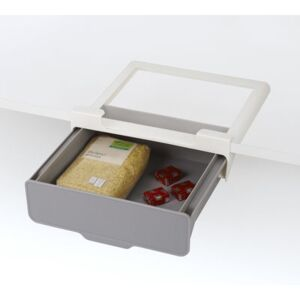 Hanging drawer - / For shelves & cupboards - L 23.5 x D 22.5 cm by Joseph Joseph Grey