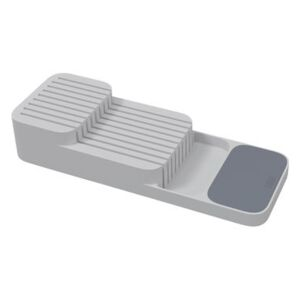 Compact Knife tidy - / For a drawer by Joseph Joseph Grey