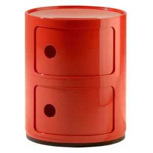 Componibili Storage - 2 elements by Kartell Red