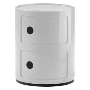 Componibili Storage - 2 elements by Kartell White