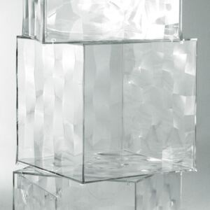 Optic Storage - Without door by Kartell Transparent