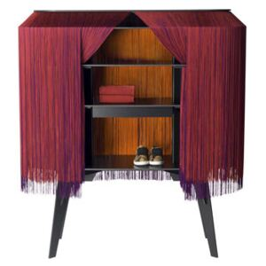 Alpaga Bar - / Dresser - L 140 cm - Limited numbered edition by Ibride Red