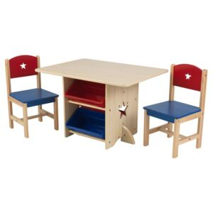KidKraft Star Table with 2 Chairs Set