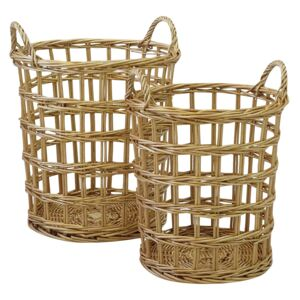 Nest of 2 Willow Baskets