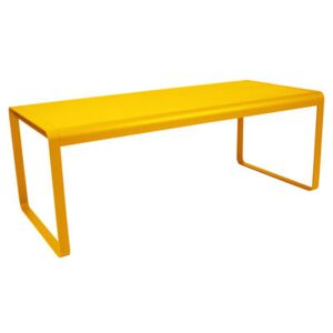 Bellevie Rectangular table by Fermob Yellow