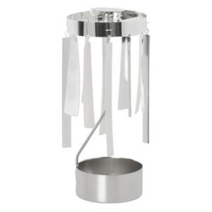 Tangle Christmas bell by Ferm Living Silver