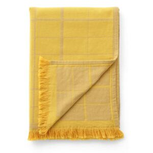 Untitled AP10 Plaid - / 150 x 210 cm by &tradition Yellow