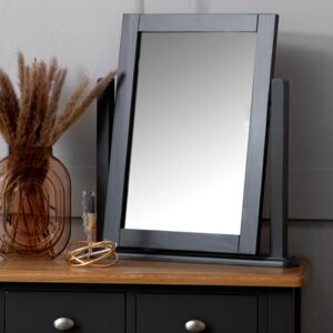 Gloucester Midnight Grey Painted Dressing Table Mirror