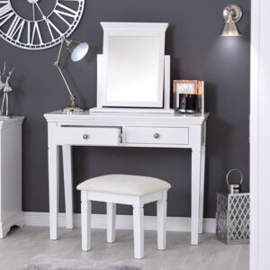 Florence White Painted Dressing Table