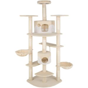 Tectake 402108 cat tree nelly - beige/white