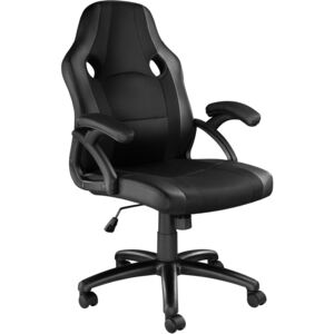 Tectake 403481 office chair benny - black