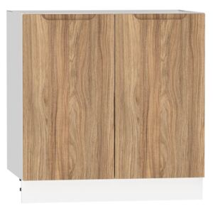 FURNITOP Lower Kitchen Cabinet ZOYA D80 natural wood