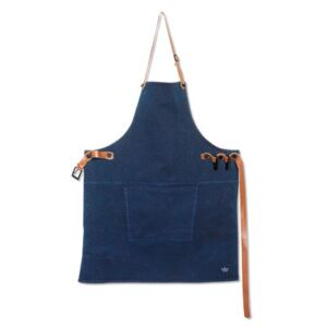 Apron - Barbecue / Denim by Dutchdeluxes Blue