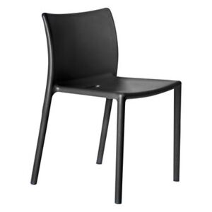 Air-chair Stacking chair - Polypropylene by Magis Black