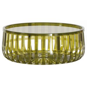 Panier Coffee table by Kartell Green