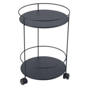 Guinguette Trolley - / with casters - Ø 40 x H 62 cm by Fermob Grey