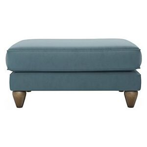 The Lounge Co. - Bronwyn Fabric Footstool - Blue