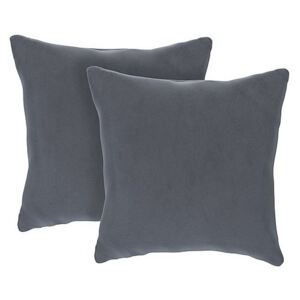 The Lounge Co. - Bronwyn Pair of Small Cushions - Grey