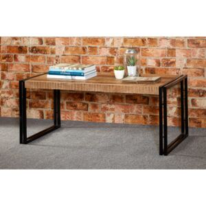Upcycled Industrial Vintage Mintis Large Coffee Table