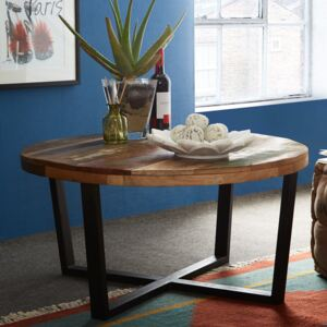 Reclaimed Boat Round Coffee Table