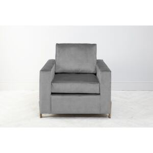 George Armchair in Silver Spoon