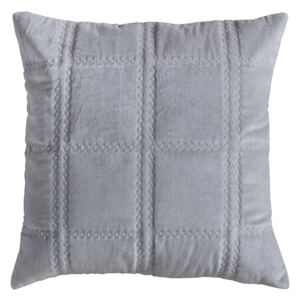Eaton Grey Quilted Cushion