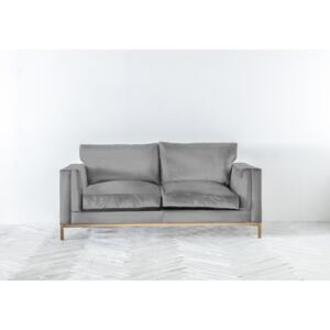 Jamie Three-Seater Sofa in Silver Spoon