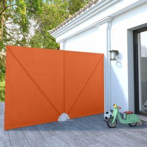 VidaXL Collapsible Terrace Side Awning Terracotta 300x200 cm