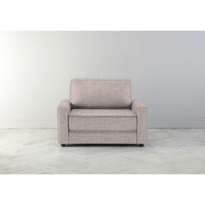 Dacre Single Sofabed in Blush Pink