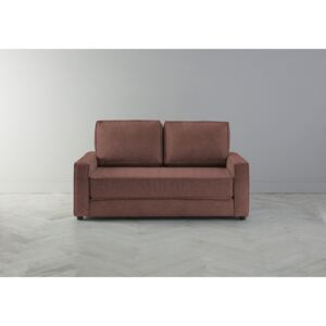 Dacre Two-Seater Sofabed in Cinnamon Latte