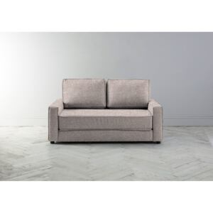Dacre Two-Seater Sofabed in Blush Pink