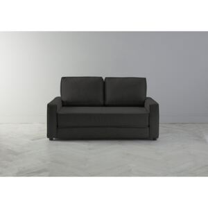 Dacre Two-Seater Sofabed in Obsidian Black
