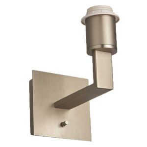 Roma Mix & Match USB Wall Lamp in Brushed Silver