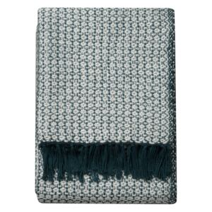Romilly Metallic Throw in Teal