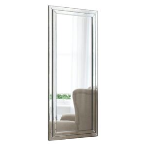 Casey Standing Mirror with Antique Silver Finish