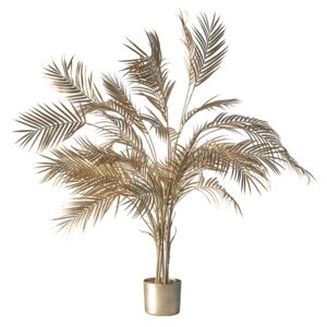 Charisma Champagne Potted Palm Tree, Large