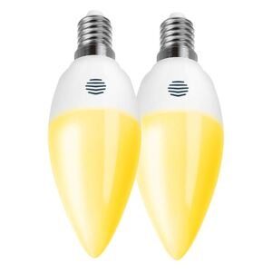 Hive Light Dimmable Smart E14 Twin Pack