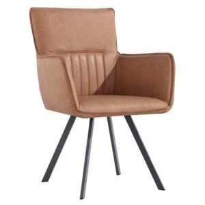 Calla Carver Chairs - Tan (2 Pack)