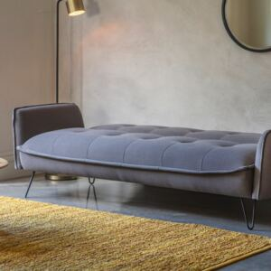 Langley Fabric 3 Seater Sofa Bed - Grey