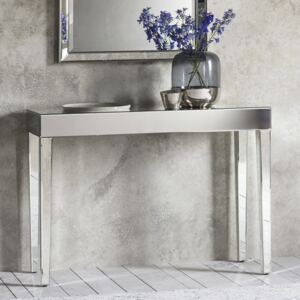 Isobel Mirrored Console Table - Silver