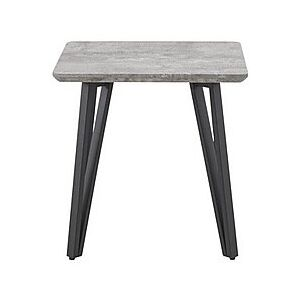 Diego Lamp Table - Grey