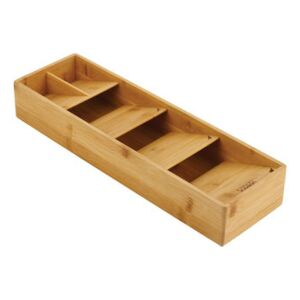 DrawerStore Bamboo Utensil tidy - / For cutlery - 12,2 x 39,8 cm by Joseph Joseph Natural wood
