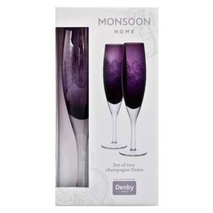 Monsoon Cosmic Champagne Flute (Pack Of 2)