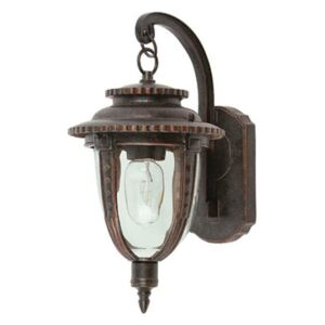 Elstead STL2/S St Louis Ext Small Wall Lantern in Weathered Bronze