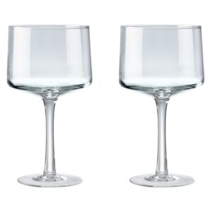 Natural Canvas Set Of 2 Gin Glasses